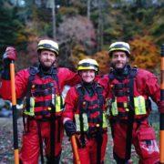 Water training in Dartmoor