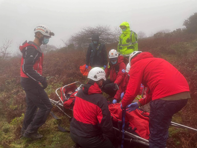 MEDICAL – Trencrom Hill (21/12/2020)