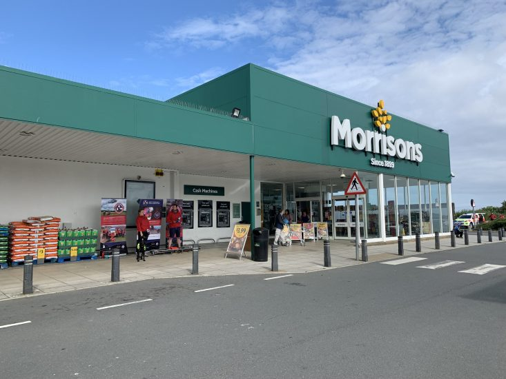 Fundraising at Morrisons